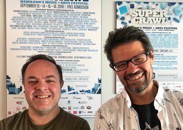 Sonic Unyon's Mark Milne (l) and Tim Potocic (r)
