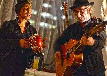 Colina Phillips and Edgar Breau showcasing at FAI  Photo: lumaRae Photography