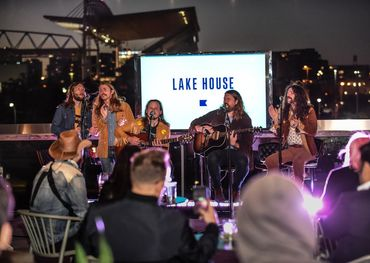 The Sheepdogs at Lake House