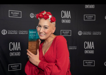 Cadence Grace at CMAO Awards  Photo: Barry Roden
