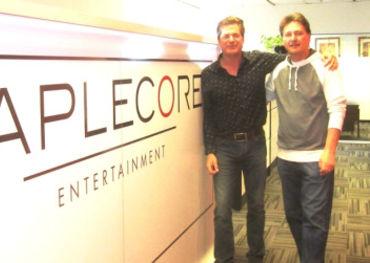 Maplecore's Iain Taylor and Tony Tarleton