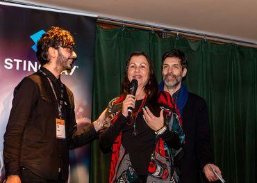 Stingray Rising Star award winner Kym Gouchie