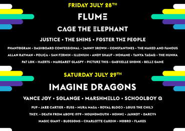 WayHome Festival line-up
