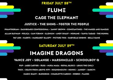 WayHome Festival line-up