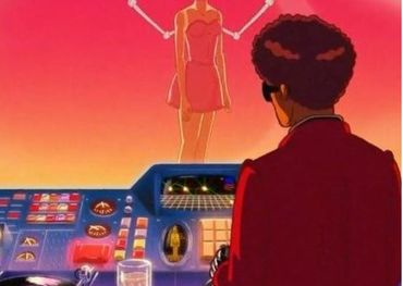 Capture from The Weeknd's latest animated song video.