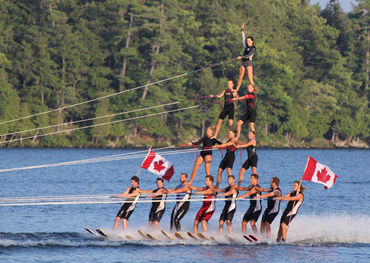 Pic credit: World Water Ski Show Team Championship at Deerhurst Inn