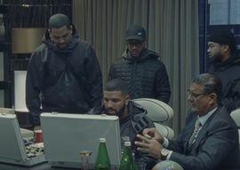 A Drake and team YouTube screenshot.