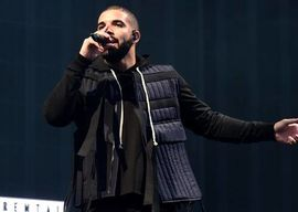 Drake at Wireless fest  Photo: The Independent
