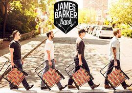James Barker Band with their Lawn Chair Lazy album