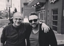 Johnny Reid with Revival's co-producer, Bob Ezrin