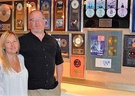 At their Waterdown art gallery, partners Geoff and Brooke Kulawick