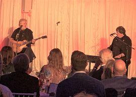 Randy & Burton at Casa Loma concert. PIc: Karen Bliss