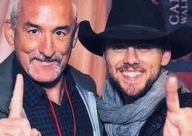 Steve Coady (l) with Brett Kissel