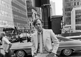 Tom Wolfe in Manhattan in 1968. Pic: Sam Falk, The New York Times
