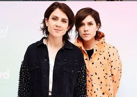 Amelia Artists management clients, Tegan & Sara (Instagram pic)