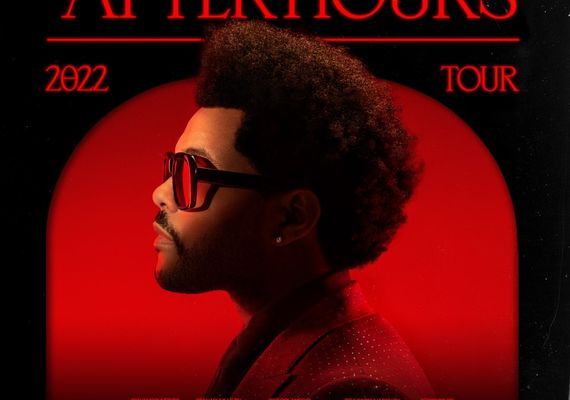 Poster for the now cancelled Weeknd tour