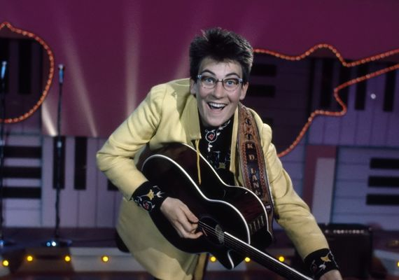 k.d. lang as featured in the series
