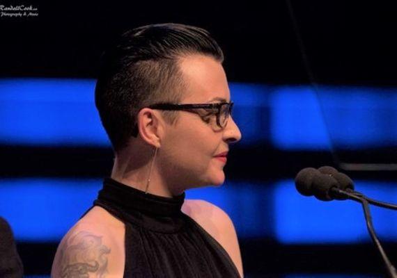 Blues award recipient Sarah French.