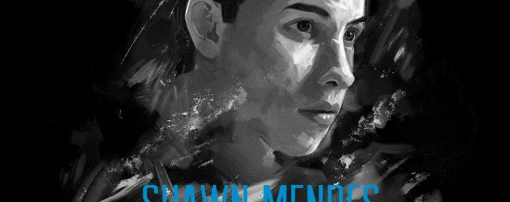 The latest Shawn Mendes image, used to promote his world arena tour