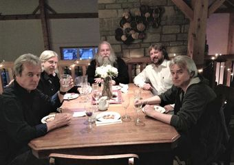 Bentwood Rocker with Rick Scott of Scott Sound (at the head of the table).