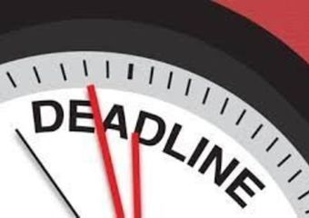 Calendar of Deadlines