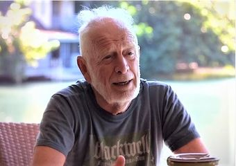 Island founder Chris Blackwell, from CMW interview screenshot.