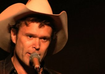 Corb Lund was one of the many who donated time and name to the Fort Mac benefit last night in Edmonton