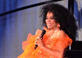 Diana Ross in performance Valentine's Day 2019
