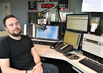 "Justin ""Drex"" Wilcomes is about to shake-up late night radio"