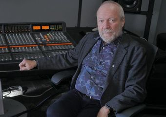 Gary in the Slaight Music studio. Photo: Bill King