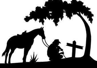 The cowboy's farewell