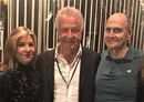 Sam (centre) with clients' Diana Krall and James Taylor