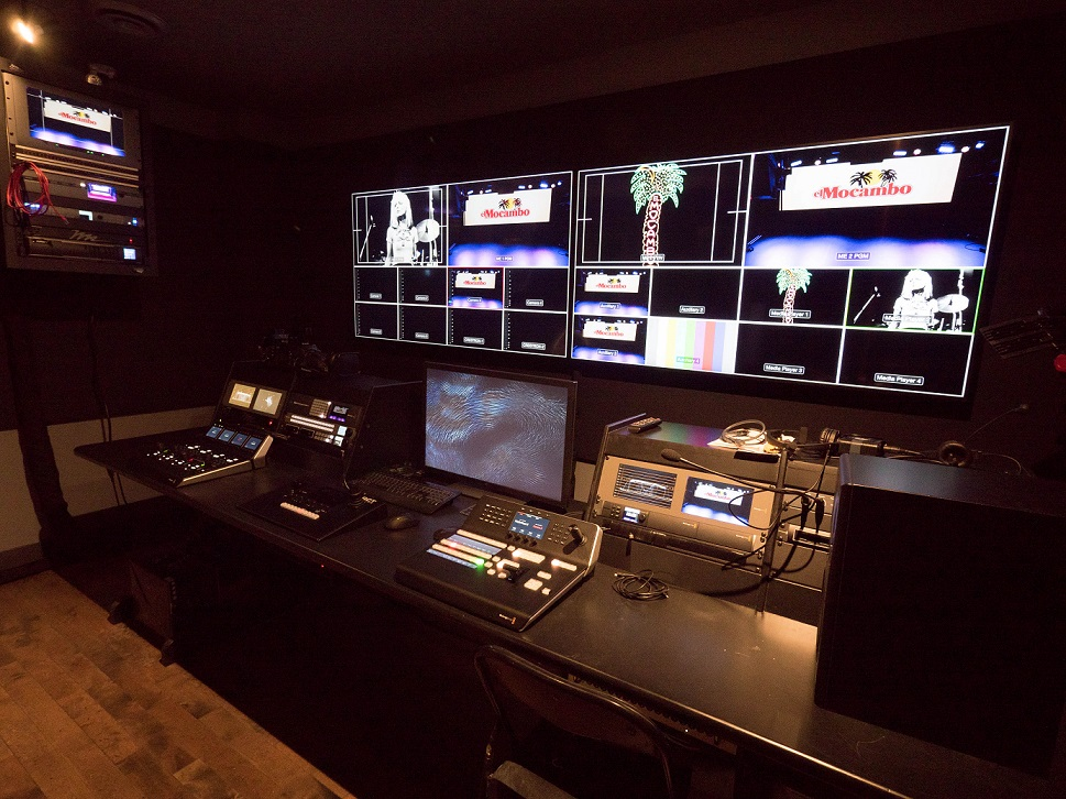 Video suite on the 3rd level.Bill King Photography